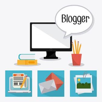 Blog ontwerp.