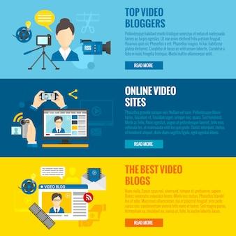 Bloggen voor videoblog