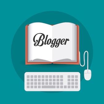 Blogger digitaal ontwerp.