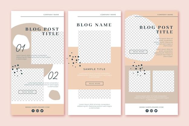 Blogger-e-mailsjabloon