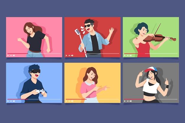 Bloggers over schermverzameling