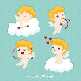 Blonde cherubin valentijn collectie
