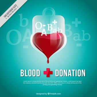 Blood dontation achtergrond