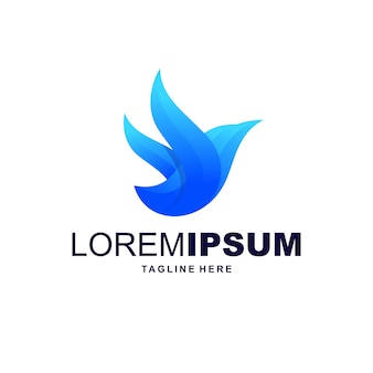 Blue bird-logo