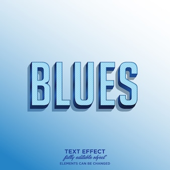 Blues-stickerthema voor titel of product