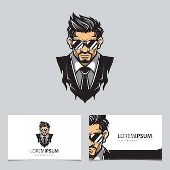 Bodyguard-logo en visitekaartje