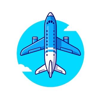 Boeing plane illustratie