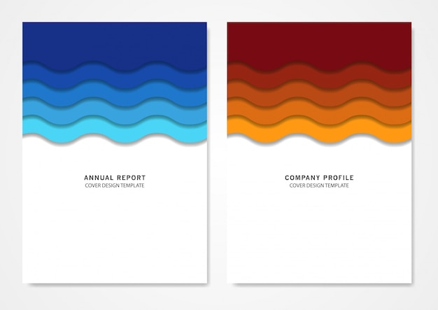 Boek cover ontwerpsjabloon
