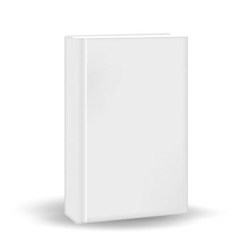 Boek in een realistische stijl. voor jouw . op een witte achtergrond. illustratie.
