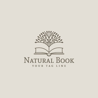 Boek logo ontwerp