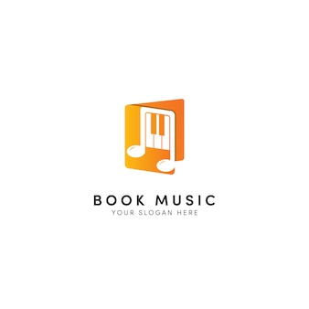 Boek muziek logo