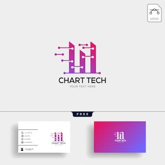 Boekhoudkundige, financiële creatieve logo sjabloon