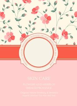Boekomslag met bloemtextuur