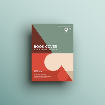 Boekomslag met geometrische vormen
