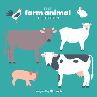 Boerderij dieren collectie