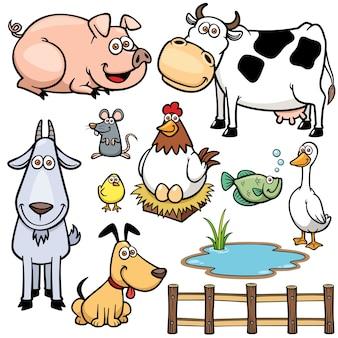 Boerderij dieren set