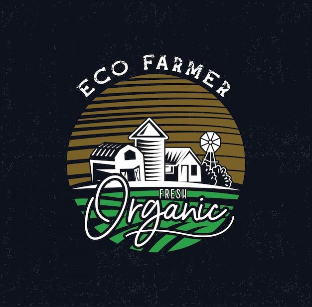 Boerderij logo industrieën