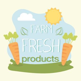 Boerderij verse producten