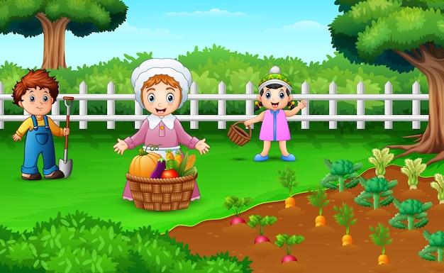 Boeren oogsten de resultaten van hun plantages