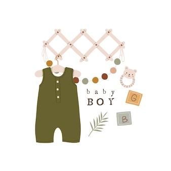 Boheemse baby showeruitnodiging