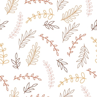 Boho bloemenachtergrond voor kinderkamerdecoratie met schattige takken.