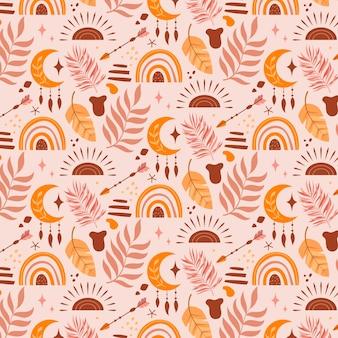 Boho patroon ontwerp