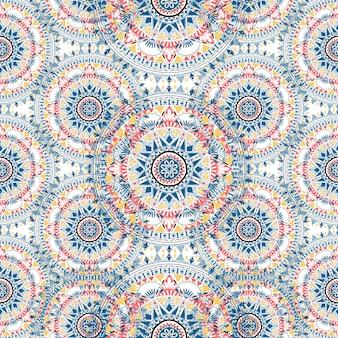 Boho patroon stijl grafische vector