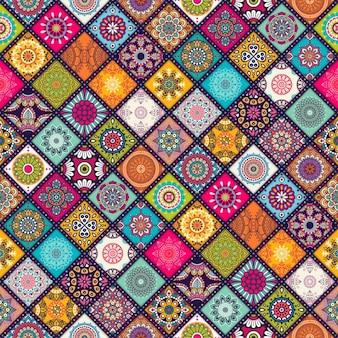 Boho stijl patroon