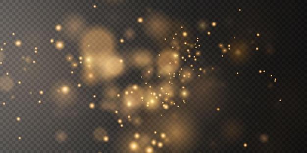 Bokeh licht lichten effect achtergrond kerst achtergrond van glanzend stof kerst gloeiende bokeh