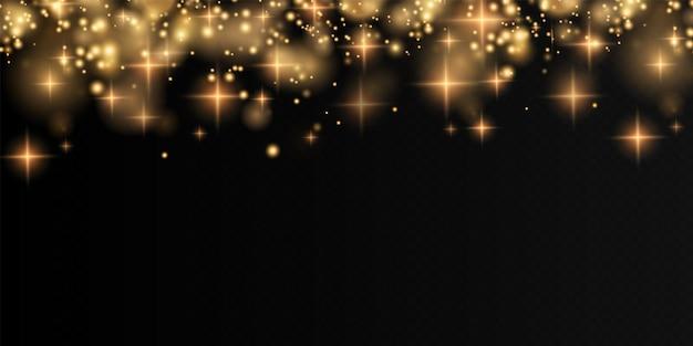 Bokeh licht lichten effect achtergrond kerst achtergrond van glanzend stof kerst gloeiende