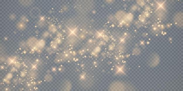 Bokeh licht lichten effect achtergrond kerst achtergrond van glanzend stof