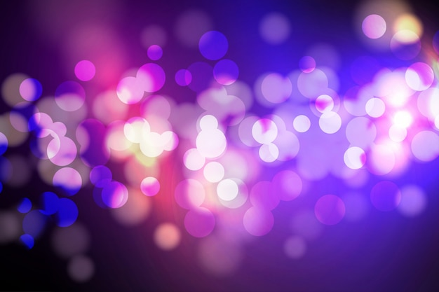 Bokeh lichten en glitter achtergrond
