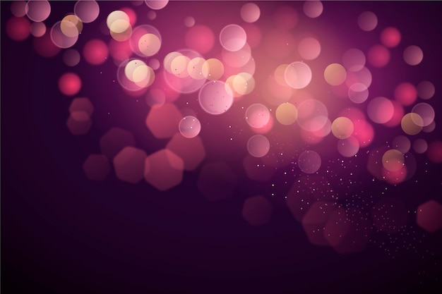 Bokeh wallpaper concept