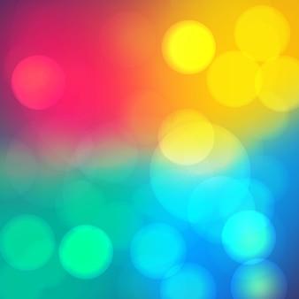 Bokeh zachte onscherpe achtergrond met licht