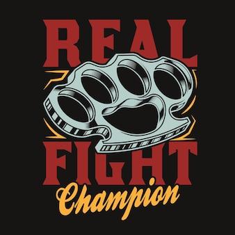Boksbeugels echte vechtkunst