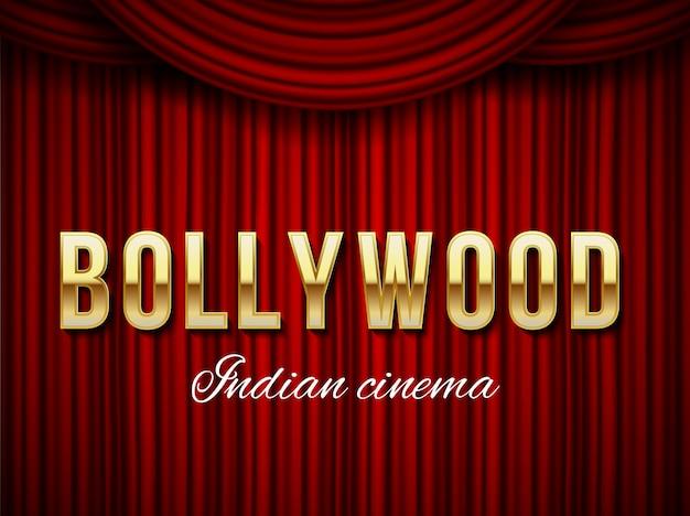 Bollywood-bioscoop, indiase film, cinematografie.
