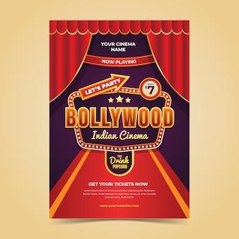 Bollywood partij folder sjabloon