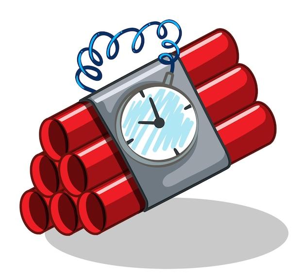 Bom omwikkeld met timer