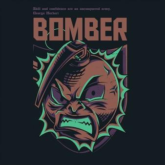 Bommenwerper leger