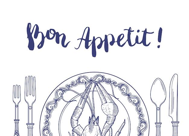 Bon appetit banner
