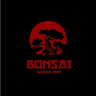Bonsai plant logo