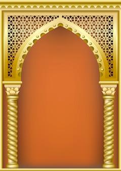 Boog in arabische oosterse stijl