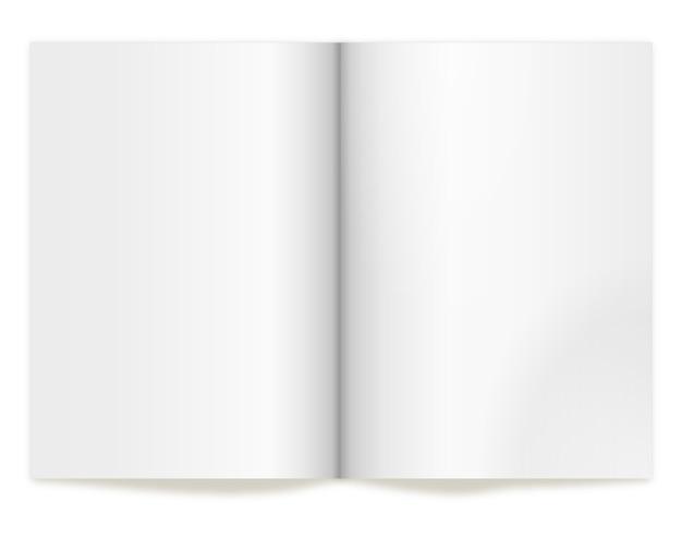 Book spread voor vertegenwoordigen de concepten en ontwerpen