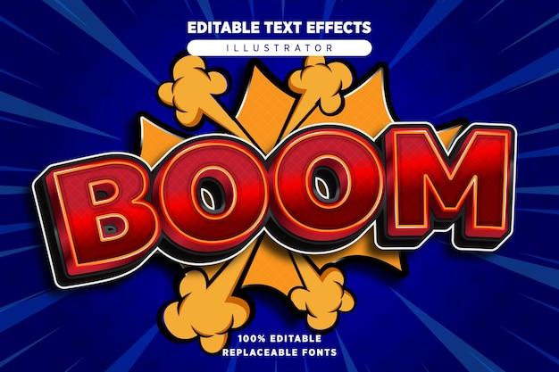 Boom teksteffect bewerkbaar
