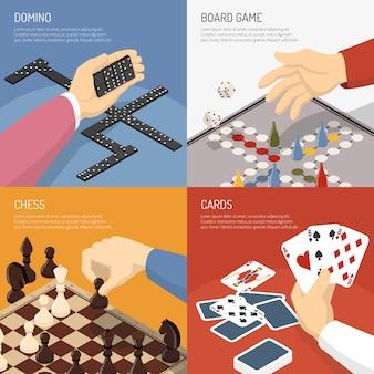 Bordspellen ontwerpconcept