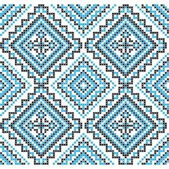 Borduurwerk. oekraïense nationale ornamentdecoratie. vector illustratie