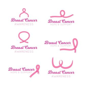 Borstkanker bewustzijn maand badges