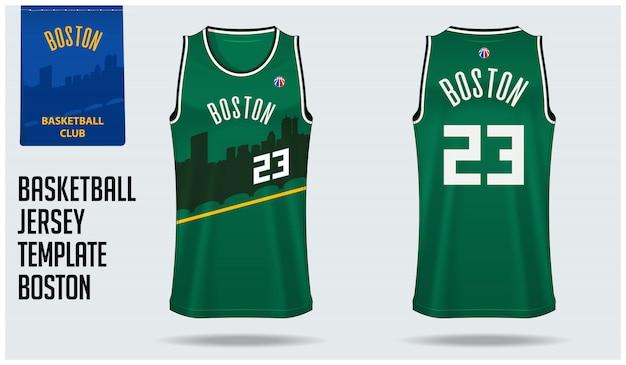 Boston basketbalshirt