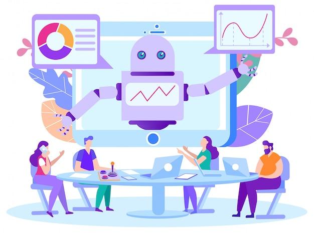 Bot-programma voor assistentie op afstand