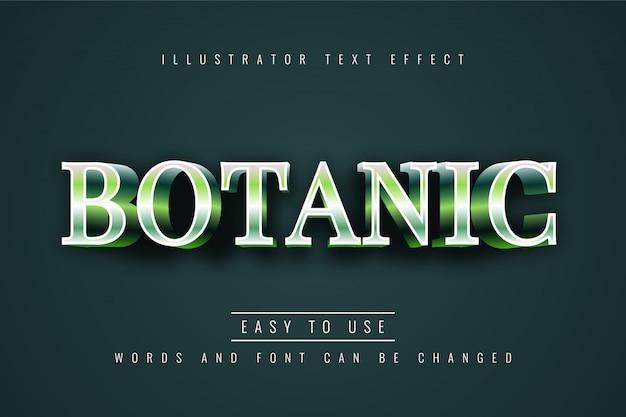 Botanisch effect